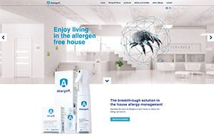 Allergoff webside screenshot