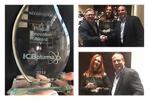 Woodstream Product Innovation Award for ICB Pharma - photo