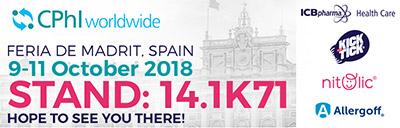 CPhI Madrid 2018 - ICB Pharma Baner