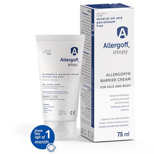 Allergoff Atopy cream visualisation