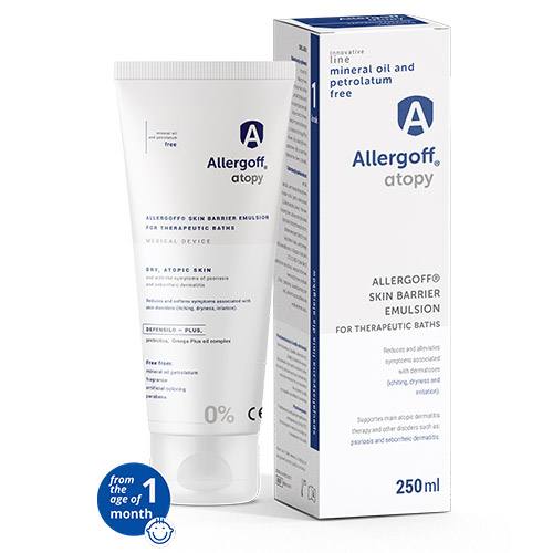 Allergoff Atopy emulsion - visualisation