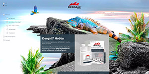 Dergall Hobby website