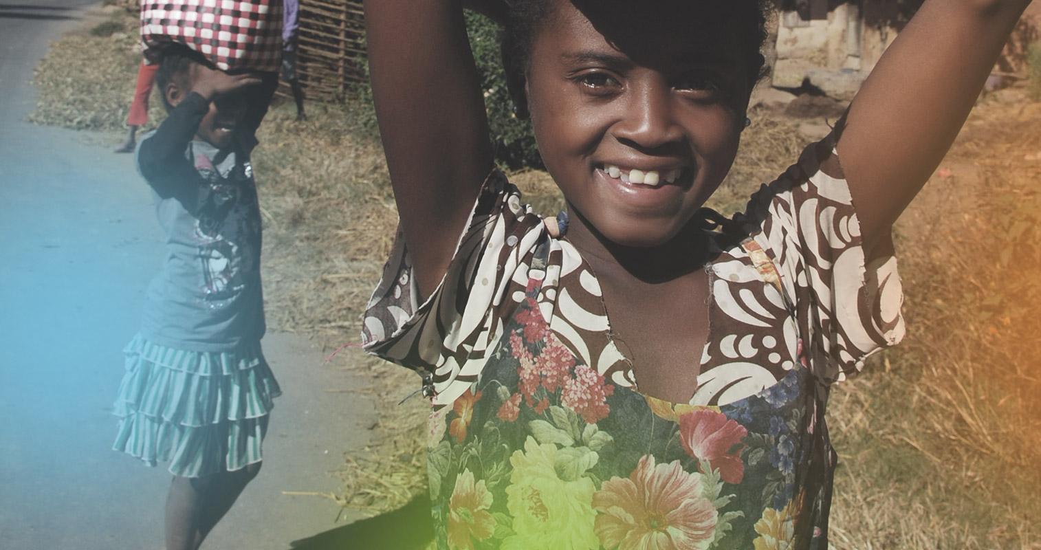 Zdjęcie przedstawiające dziewczynkę