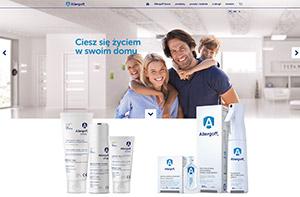 Allergoff Atopy - screen strony internetowej