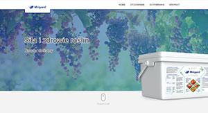 Miligard - screen strony internetowej
