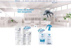 Allergoff -screen strony internetowej