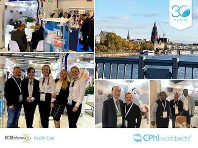 ICB Pharma na CPhI Frankfurt - zdjęcie