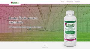 Alatis - screen strony internetowej