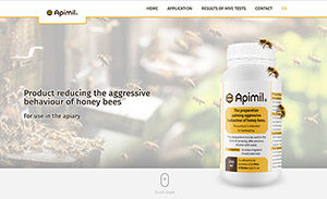 Apimil website screenshot