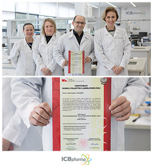 ICB Pharma - certyfikaty
