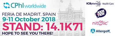 ICB Pharma na CPhI Madryt 2018 - baner