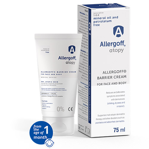 Allergoff Atopy cream visualisation